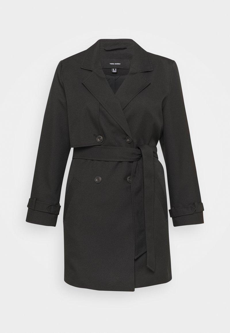 Vero Moda Curve - VMCELESTE - Trenchcoat - black