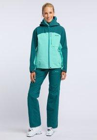 PYUA - RELEASE - Pantaloni da neve - petrol blue - 1