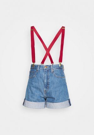 POKEMON MISTY'S - Short en jean - cerulean blue