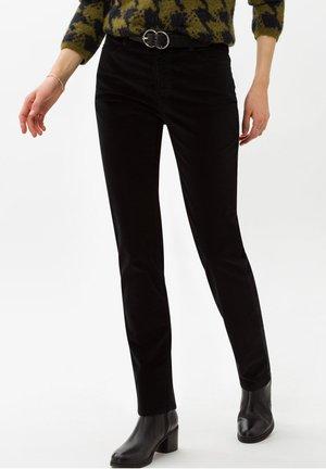 STYLE CAROLA - Trousers - black