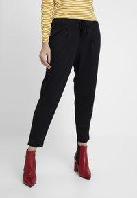 edc by Esprit - FINE PANT - Tracksuit bottoms - black - 0