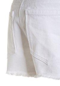 Next - FRAYED HEM  - Denim shorts - white - 3