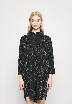 MOA  - Shirt dress - black dark