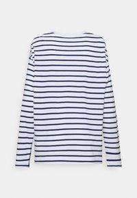ARKET - Camiseta de manga larga - white/blue - 1