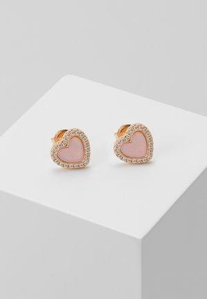 PREMIUM - Earrings - rosegold-coloured