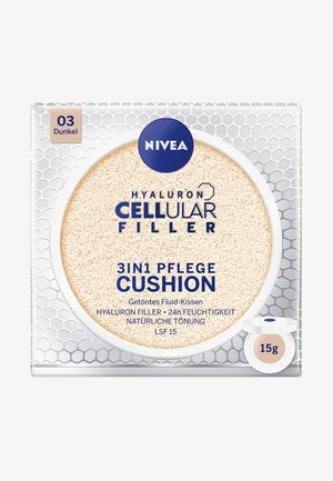 HYALURON CELLULAR FILLER 3 IN 1 CARE CUSHION - Lotion visage - dark 03