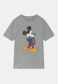 GAP - BOY MICKEY - Print T-shirt - light heather grey - 0