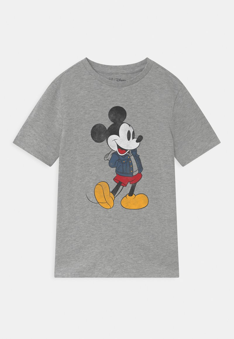GAP - BOY MICKEY - Print T-shirt - light heather grey