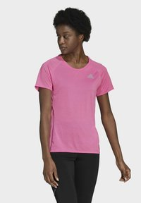 adidas Performance - RUNNER - T-shirt print - pink - 0