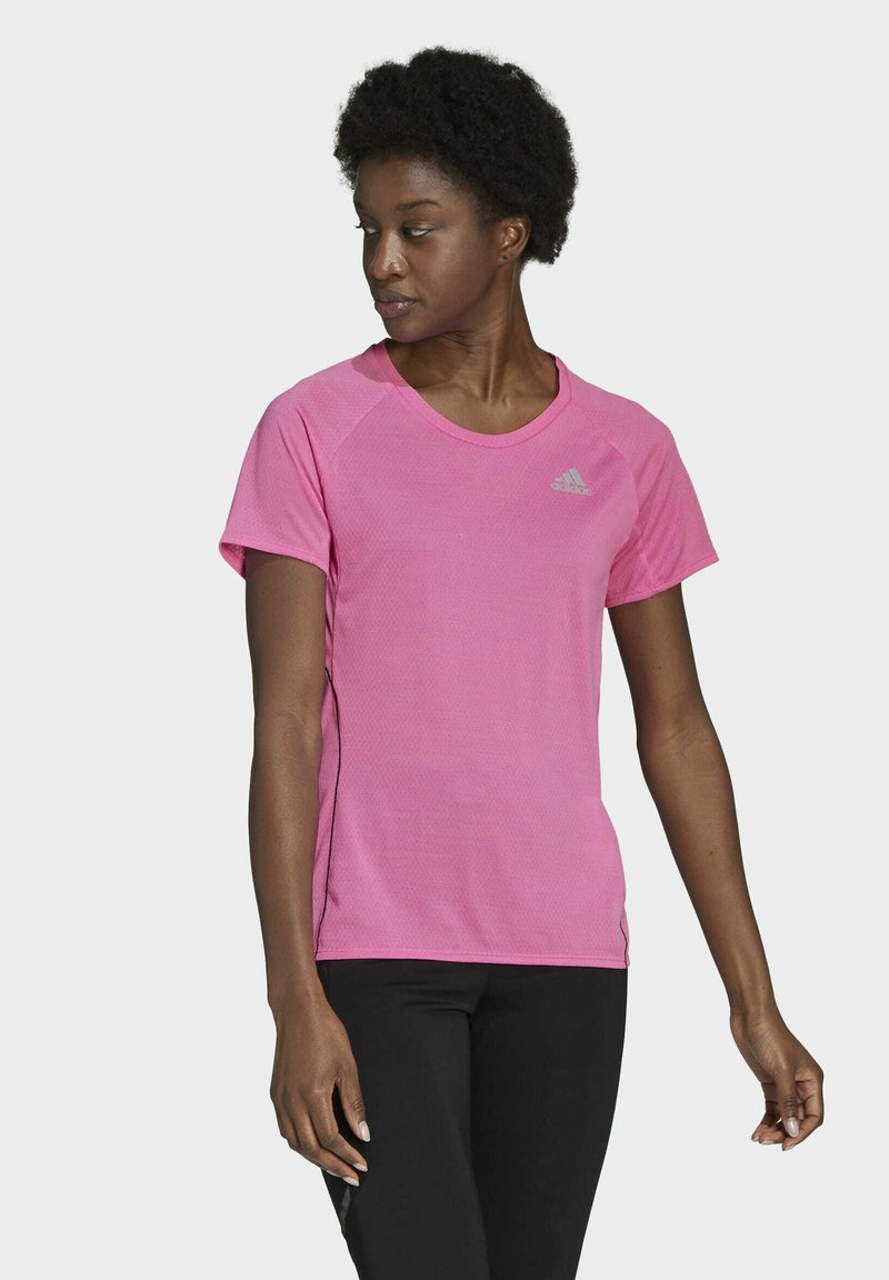 adidas Performance - RUNNER - T-shirt print - pink