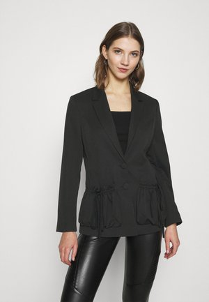 POCKET DETAIL - Blazer - black