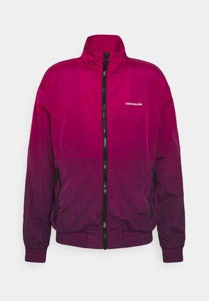 DIP DYE JACKET - Training jacket - purple