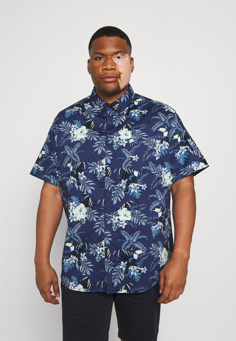 Johnny Bigg - RIO TOUCAN STRETCH SHIRT - Skjorta - dark blue