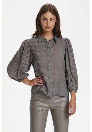 Skjorte - brushed nickel