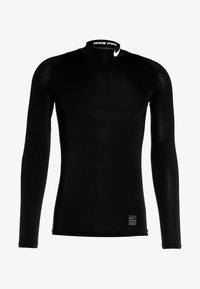 PRO COMPRESSION MOCK - Sports shirt - black/white