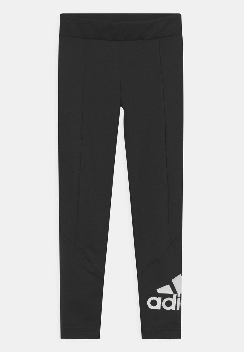 adidas Performance - UNISEX - Leggings - black/white