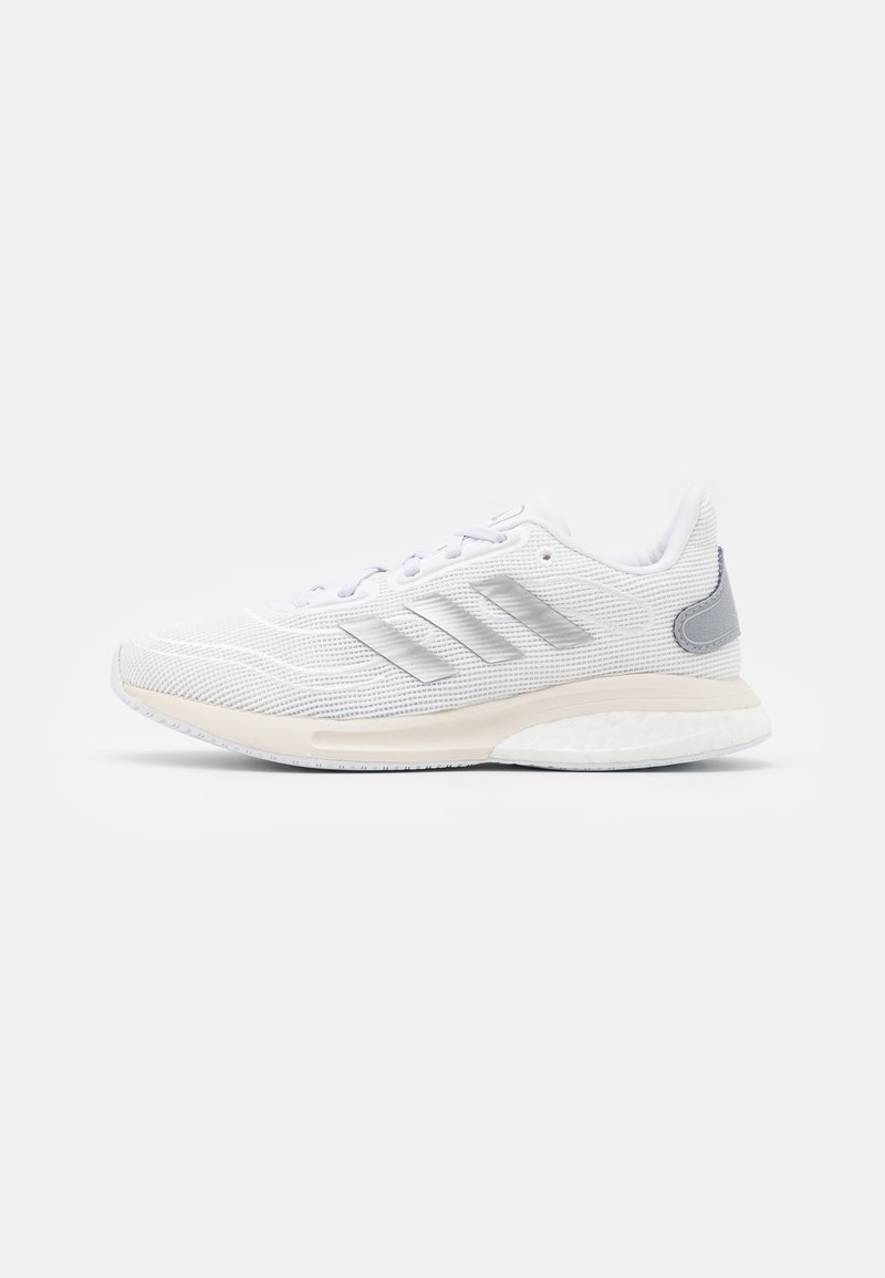 adidas Performance - SUPERNOVA SPORTS RUNNING SHOES UNISEX - Neutral running shoes - footwear white/silver metallic/chalk white