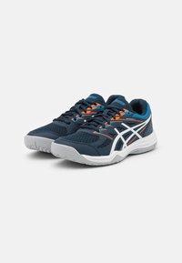 ASICS - UPCOURT GS UNISEX - Handball shoes - french blue/white - 1