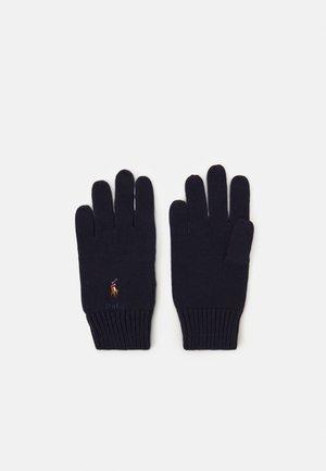 GLOVE APPAREL ACCESSORIES UNISEX - Gloves - navy