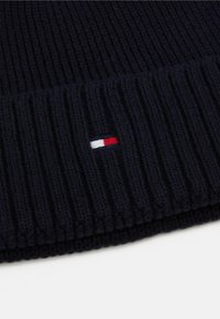 Tommy Hilfiger - PIMA COTTON BEANIE - Berretto - blue