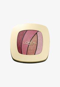 COLOR RICHE QUAD LES OMBRES - Eyeshadow palette - s10 sed rose