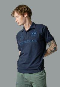 ROSO - Polo - dark blue