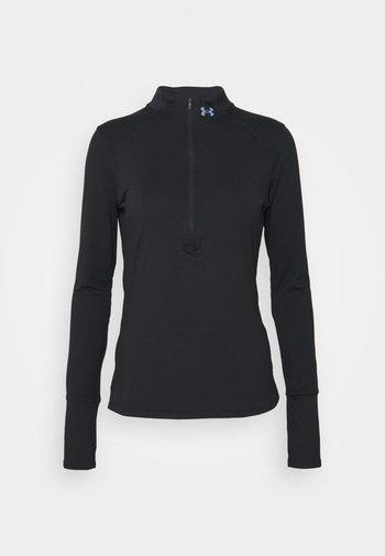 QUALIFIER RUN 2.0 1/2 ZIP - Sportshirt - black