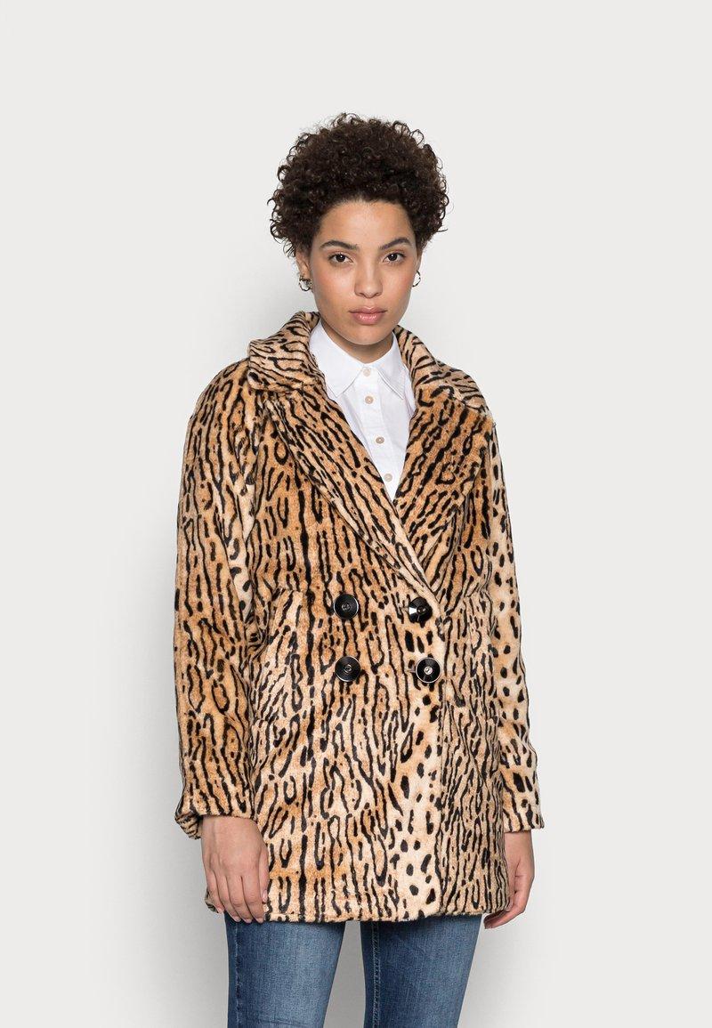 King Louie - AMELIE COAT GATO - Classic coat - beige
