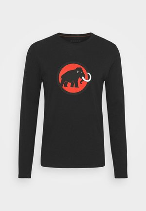 LOGO LONGSLEEVE - Long sleeved top - black