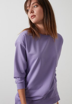 CREW NECK BASIC  - Sweatshirt - lilac