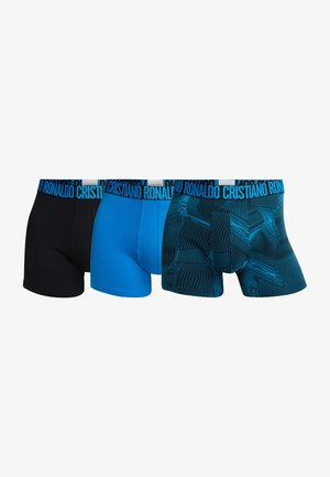 3 PACK - Shorty - schwarz/blau