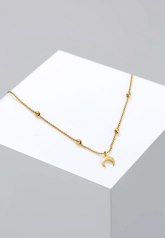CHOKER HALF MOON TREND - Ketting - gold-coloured