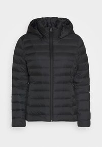 Calvin Klein - COATED ZIP LIGHT JACKET - Down jacket - black - 4