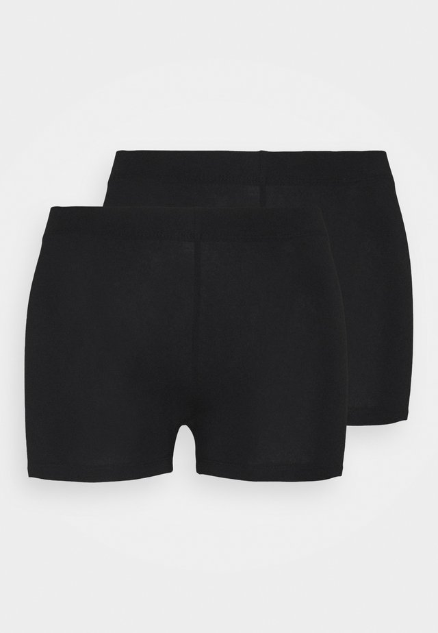 2 Pack - Shorts - black_black