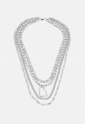 LAYERED CHAINS UNISEX - Collier - silver-coloured