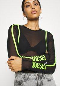 Diesel - VALERIETTE - Body - black/lemon - 5