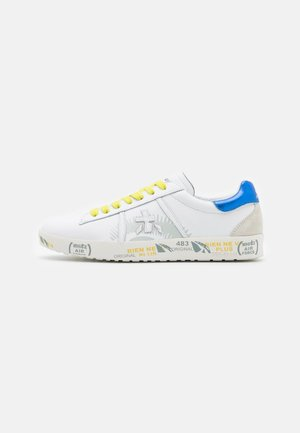 ANDY - Sneaker low - white/blue