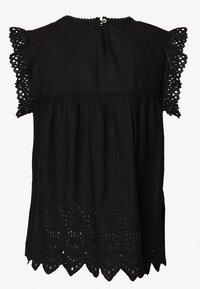 ONLY - ONLSABRYNA LYRIC TOP - Bluse - black - 1