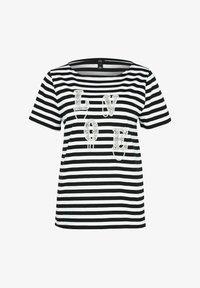 River Island - LOVE  - Print T-shirt - black - 4