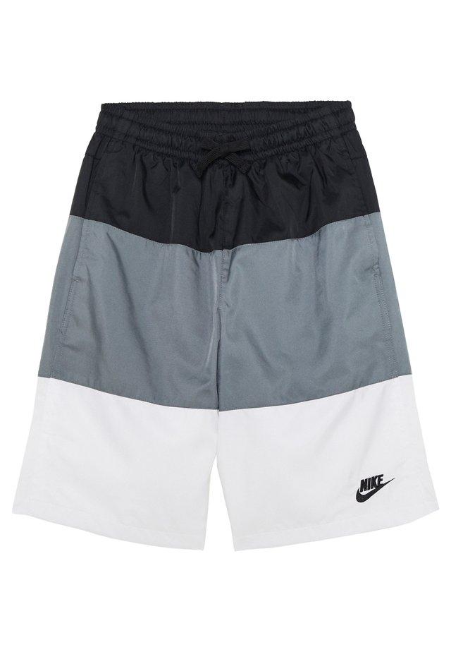 BLOCK - Shorts - black/smoke grey/white