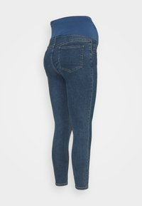 Cotton On - MATERNITY CROPPED SKINNY JEAN OVER BELLY - Jeans Skinny Fit - southside blue - 1