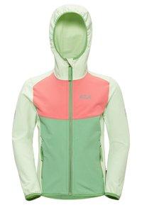 Jack Wolfskin - Zip-up hoodie - green sea - 2