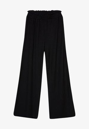 PAPINA - Kalhoty - black