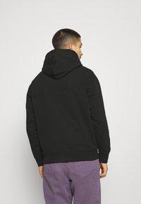 Obey Clothing - CORBEN HOOD - Collegepaita - black - 2