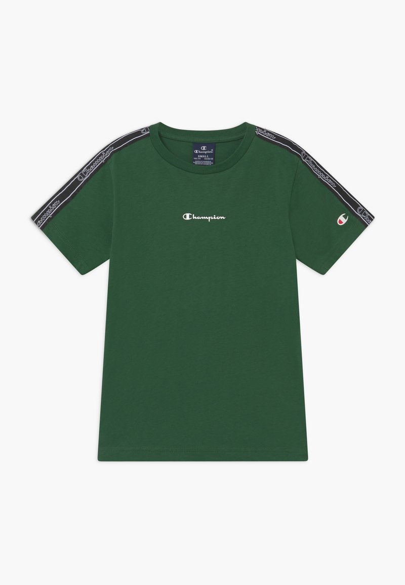 Champion - LEGACY AMERICAN TAPE CREWNECK - T-shirt z nadrukiem - dark green
