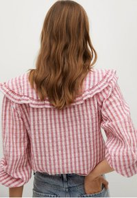 Mango - Button-down blouse - rosa