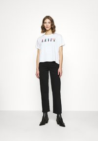 Levi's® - RIBCAGE STRAIGHT ANKLE - Vaqueros rectos - black heart - 2