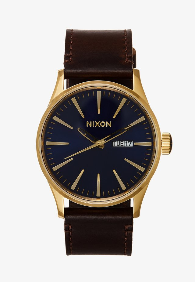SENTRY - Orologio - gold-coloured/navy