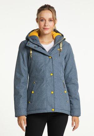 Winter jacket - marine melange