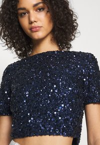 Lace & Beads - LETTY - Bluse - midnight blue - 4